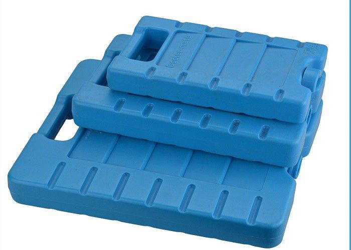 Reusable 3 Refreezable Ice Packs For Lunch Box Solid Blue